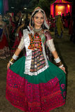 Folk dress Navratri Royalty Free Stock Photo