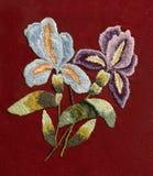 Embroidery, folk arts and crafts, handmade. Folk embroidery, Handmade embroidery, art stock photos