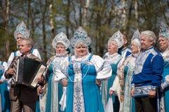 The folk ensemble Stock Photo