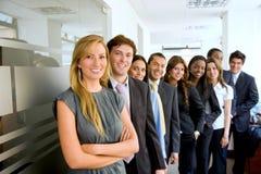 folk för affärsgrupp Royaltyfri Foto