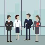 folk för affärsmöte vektor illustrationer
