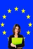 Folk för europeisk union Royaltyfri Foto