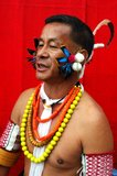 folk för india landnagaland royaltyfri foto