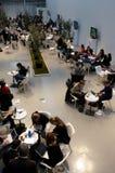 folk för konferenskorridorbärbar dator Royaltyfria Foton