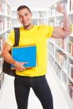 Folk för utbildning för arkiv för makt för stående format för framgång för ung man för student lyckat starkt royaltyfri bild