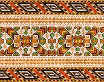 Folk fabric Royalty Free Stock Photography