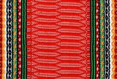 Folk fabric Stock Photos