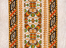 Folk fabric Royalty Free Stock Photo