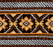 Folk fabric Stock Image