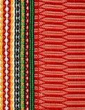 Folk fabric Stock Images