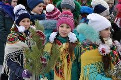Folk festival Malanka_19 Royalty Free Stock Photos