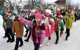 Folk festival Malanka_15 Stock Photos