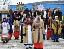Folk festival Malanka_18 Royalty Free Stock Photos