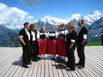 Folk festival mannlichen Royalty Free Stock Photography