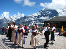 Folk festival mannlichen Royalty Free Stock Images