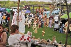 Folk Festival Stock Photography