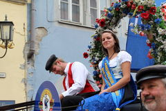 Folk Festival in Rothenburg ob der Tauber Royalty Free Stock Photos