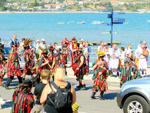 Folk Festival, Swanage, Dorset. Royalty Free Stock Photography