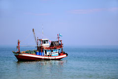 Folk Fishing Boat. Stock Photo