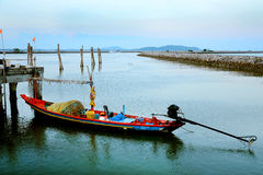 Folk Fishing Boat. Royalty Free Stock Photography