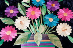 Folk flower Stock Images