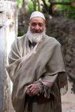 Folk från Baltistan, Indien Arkivfoton
