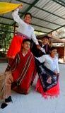 Folk från den Pistishi-Tolte gemenskapen royaltyfria foton