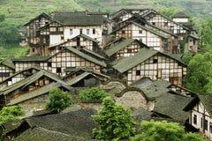 folk fubao house28 royaltyfri fotografi