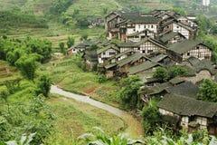 folk fubao house31 arkivbild