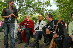 folk gen georgia för konstfestival Royaltyfri Foto