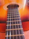 Folk gitarr Royaltyfria Bilder
