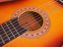Folk guitar Stock Image