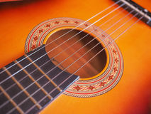 Folk Guitar Royalty Free Stock Photography