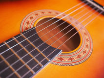 Folk Guitar Royalty Free Stock Images