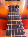 Folk guitar Stock Photography
