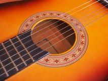 Folk guitar Royalty Free Stock Photography