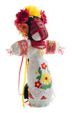 Folk handmade doll. Royalty Free Stock Photo