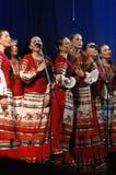 Folk helhet Kazachya Volnitsa Royaltyfria Bilder
