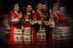 Folk helhet Kazachya Volnitsa Arkivfoton