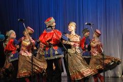 Folk helhet Kazachya Volnitsa Royaltyfri Bild