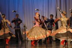 Folk helhet Kazachya Volnitsa Royaltyfria Foton