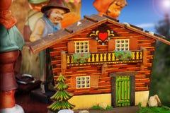 Folk home Royalty Free Stock Photography