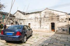folk house and car Stock Photo