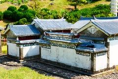The folk house of China Stock Photo