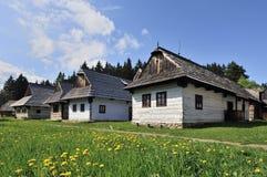 Folk Houses Royalty Free Stock Photo