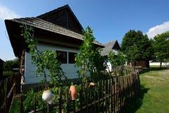 Folk hus, Pribylina, Slovakien Royaltyfria Foton