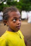 Folk i AKSUM, ETIOPIEN Arkivbilder