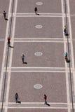 Folk i Budapest Arkivfoton