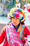 Folk i Cusco Fotografering för Bildbyråer