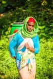 Folk i Etiopien Arkivbilder
